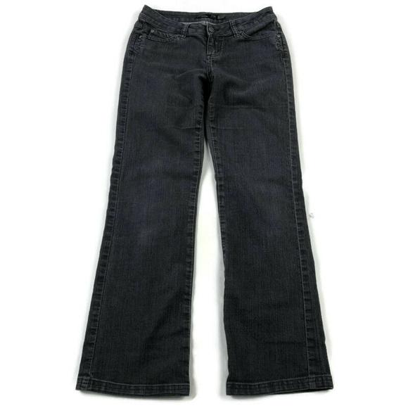 Prana Denim - Prana Gray Straight Leg Stretch Jeans